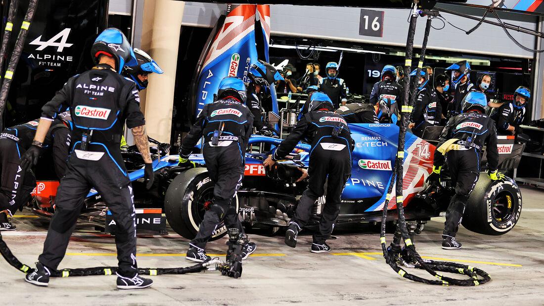 Fernando Alonso - GP Bahrain - 2021