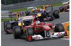 Fernando Alonso GP Belgien 2011