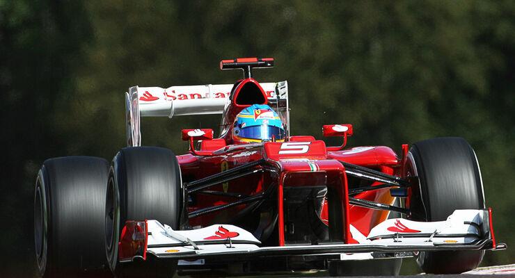 Fernando Alonso GP Belgien 2012