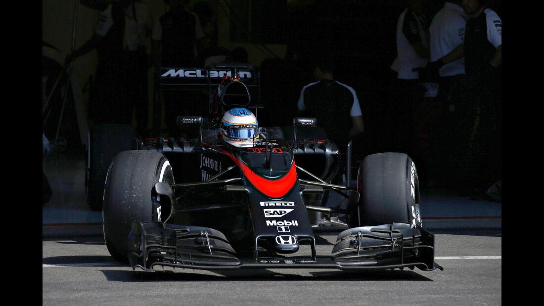 Fernando Alonso - GP Belgien 2015