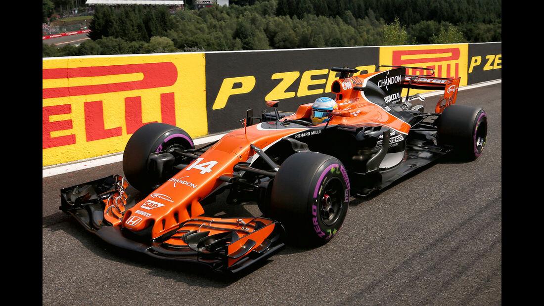 Fernando Alonso - GP Belgien 2017