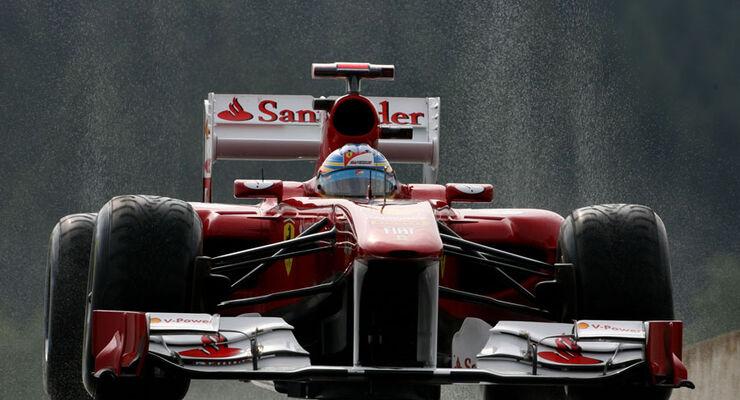 Fernando Alonso - GP Belgien - 26. August 2011