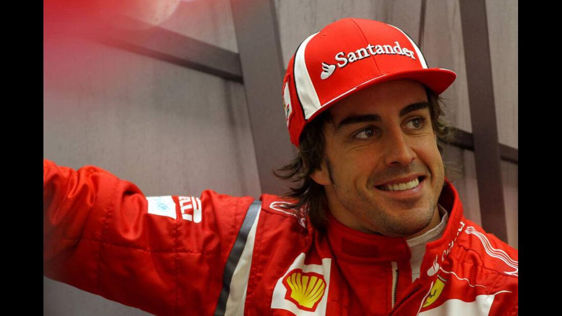 Fernando Alonso - GP Belgien - Qualifying - 27.8.2011