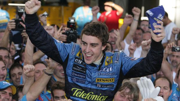 Fernando Alonso - GP Brasilien 2006