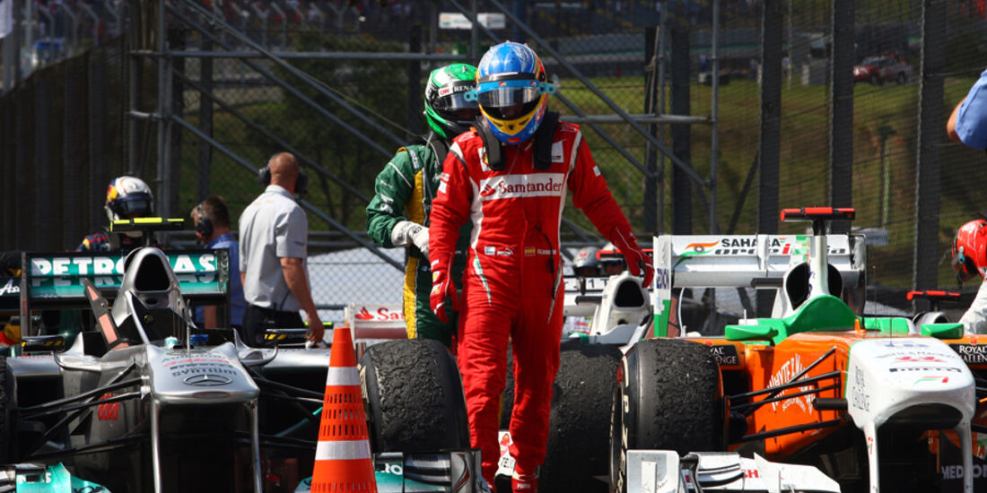 Fernando Alonso GP Brasilien 2011