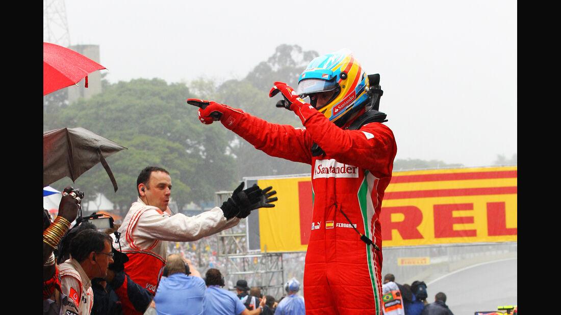Fernando Alonso GP Brasilien 2012