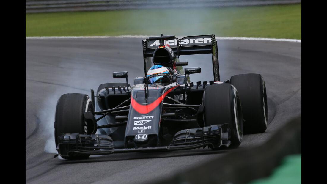 Fernando Alonso - GP Brasilien 2015