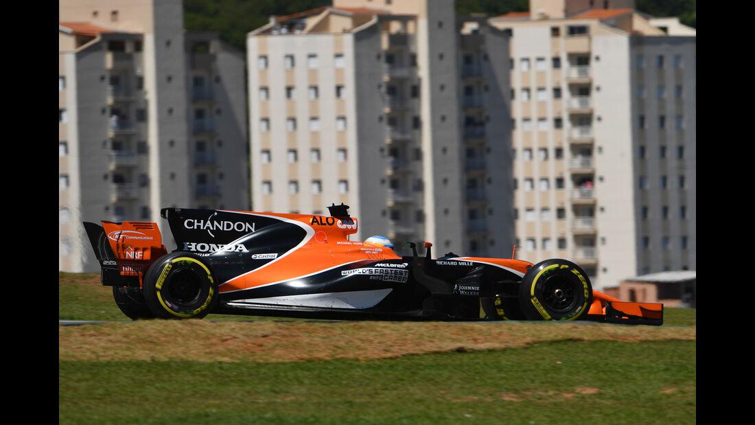 Fernando Alonso - GP Brasilien 2017