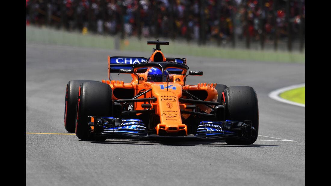 Fernando Alonso - GP Brasilien 2018