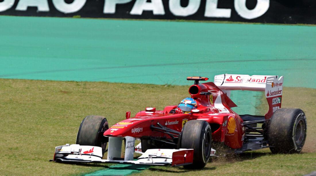 Fernando Alonso - GP Brasilien - 26. November 2011