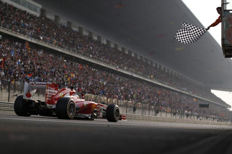 Fernando Alonso GP China 2013