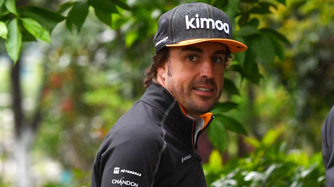 Fernando Alonso - GP China 2018