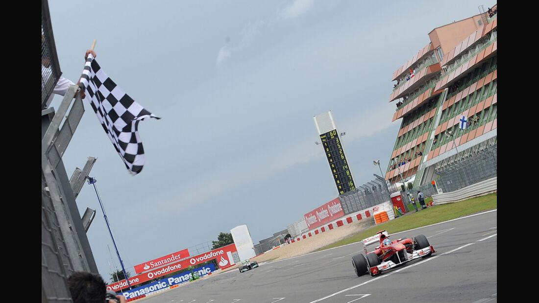 Fernando Alonso GP Deutschland 2011 Noten