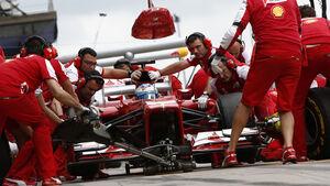Fernando Alonso GP Deutschland 2013