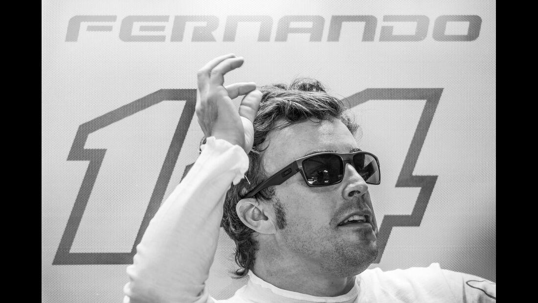 Fernando Alonso - GP Deutschland 2014 - Danis Bilderkiste