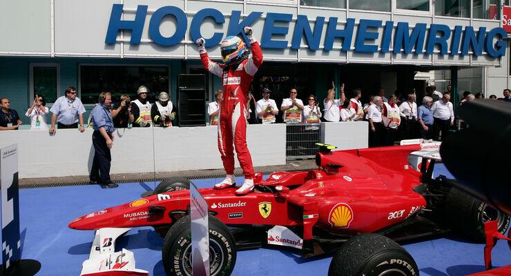 Fernando Alonso GP Deutschland Hockenheimring 2010