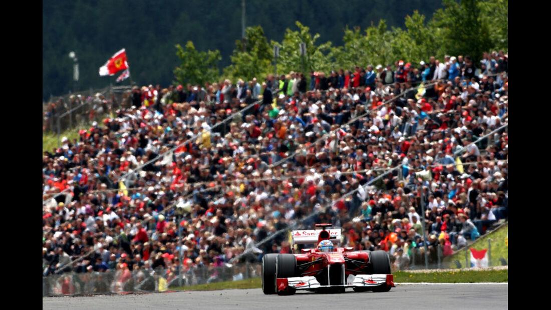 Fernando Alonso - GP Deutschland - Nürburgring - 23. Juli 2011