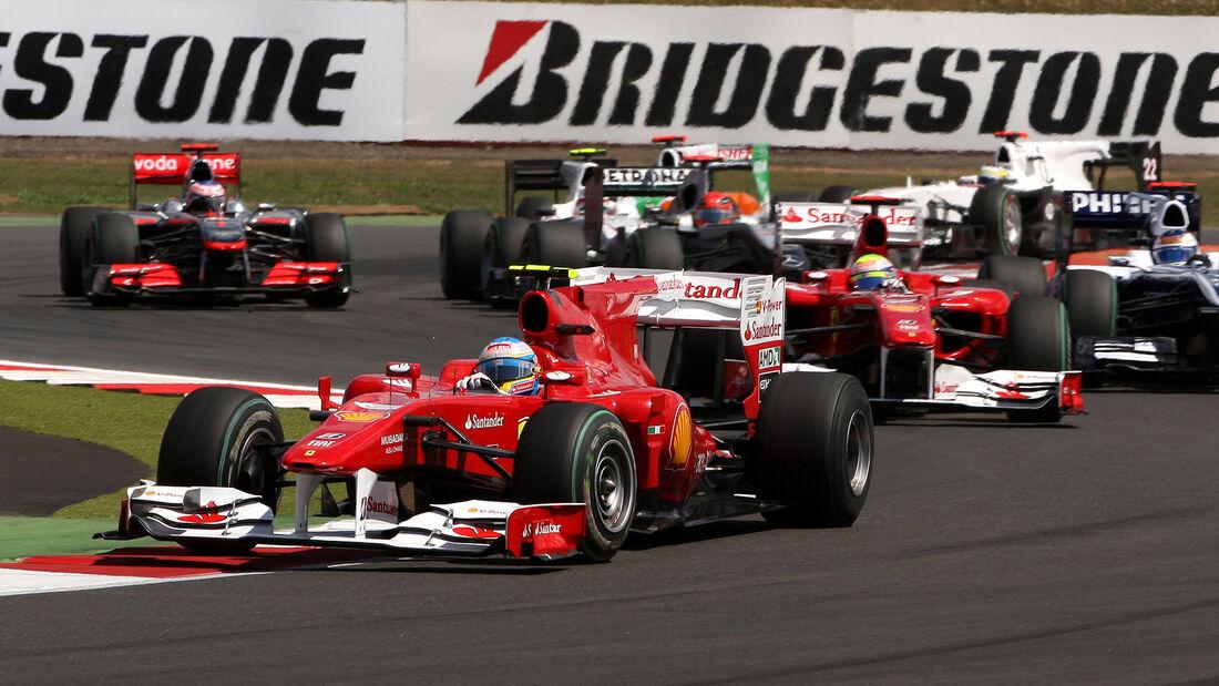 Fernando Alonso - GP England 2010