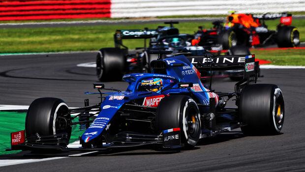 Fernando Alonso - GP England 2021