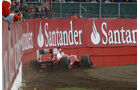 Fernando Alonso GP England Crashs 2011