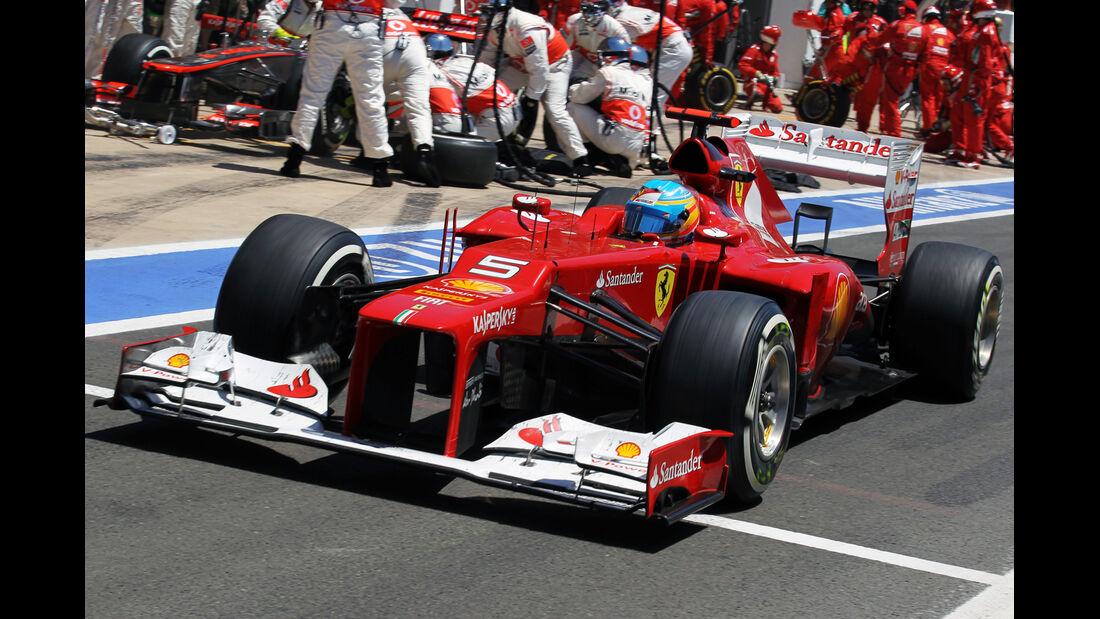 Fernando Alonso GP Europa 2012