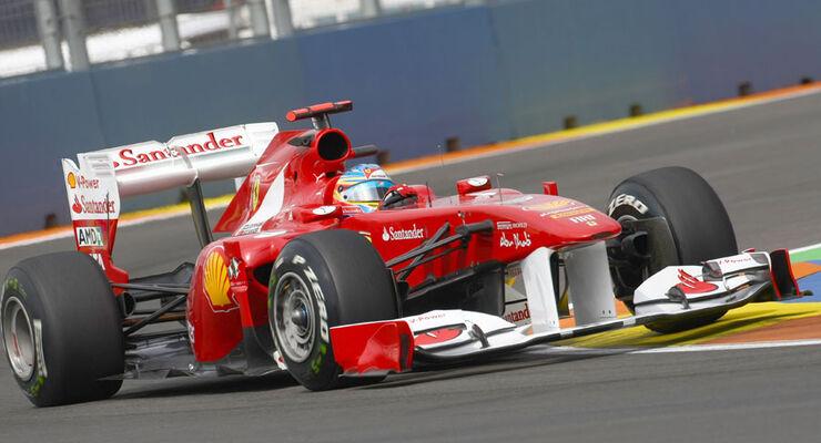 Fernando Alonso - GP Europa Valencia 2011