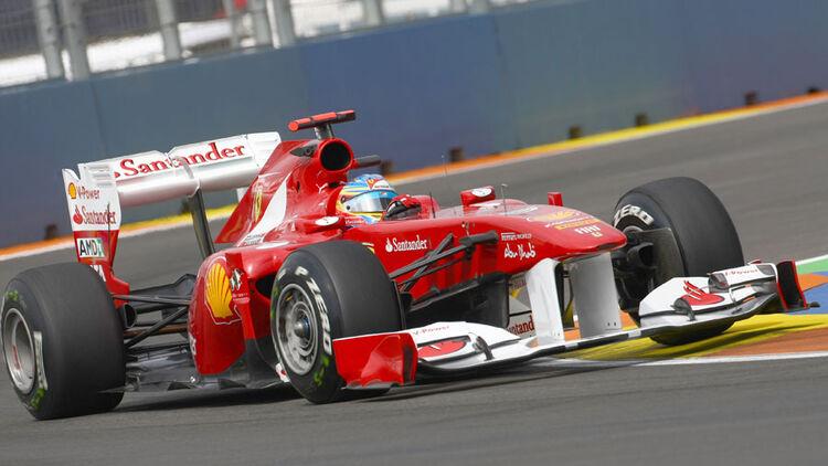GP Europa 2011 - Training 2: Alonso Schnellster | AUTO MOTOR UND SPORT