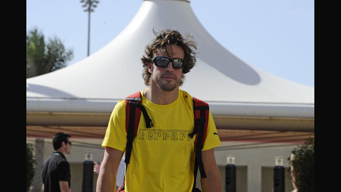 Fernando Alonso GP Indien 2011