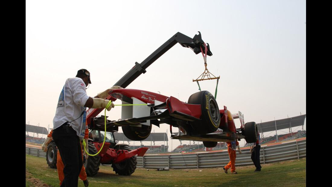 Fernando Alonso - GP Indien - Training - 28.10.2011