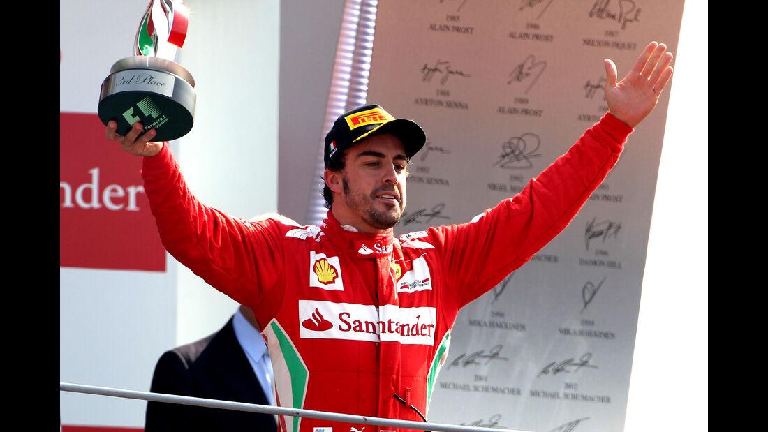Fernando Alonso - GP Italien 2012