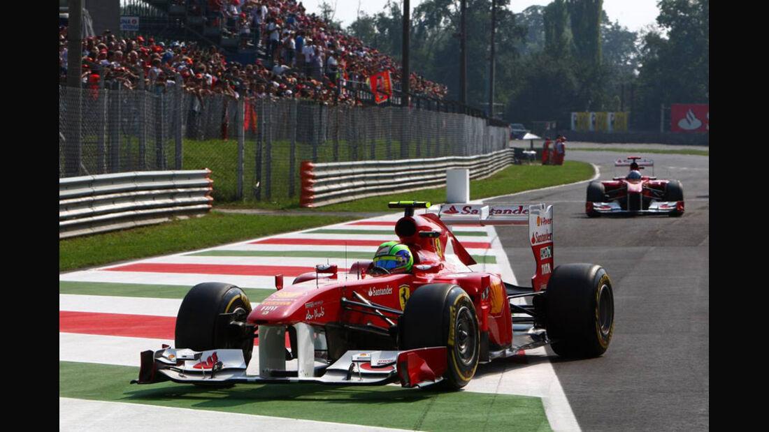 Fernando Alonso - GP Italien - Monza - 10. September 2011