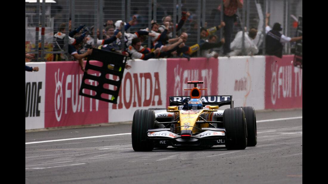 Fernando Alonso GP Japan 2008