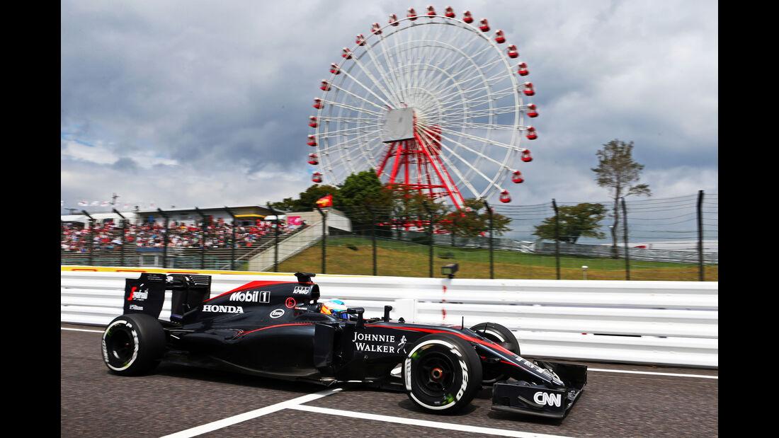 Fernando Alonso - GP Japan 2015