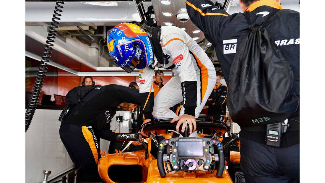 Fernando Alonso - GP Japan 2018