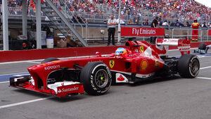 Fernando Alonso GP Kanada 2013