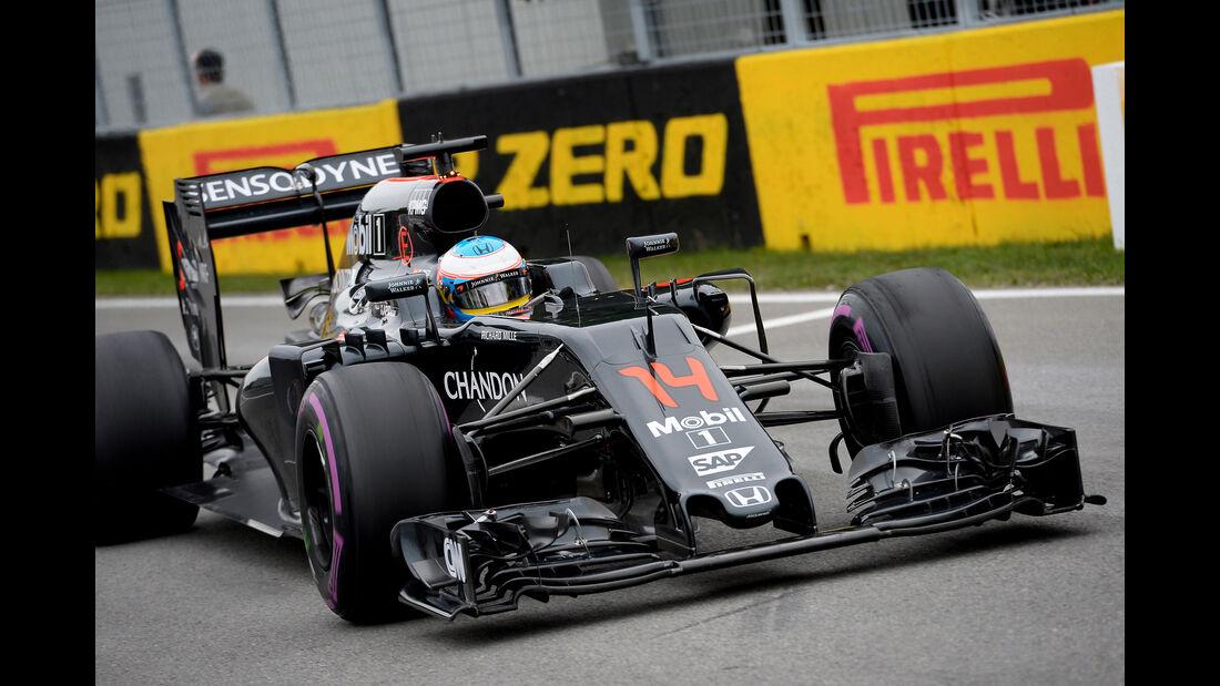Fernando Alonso - GP Kanada 2016