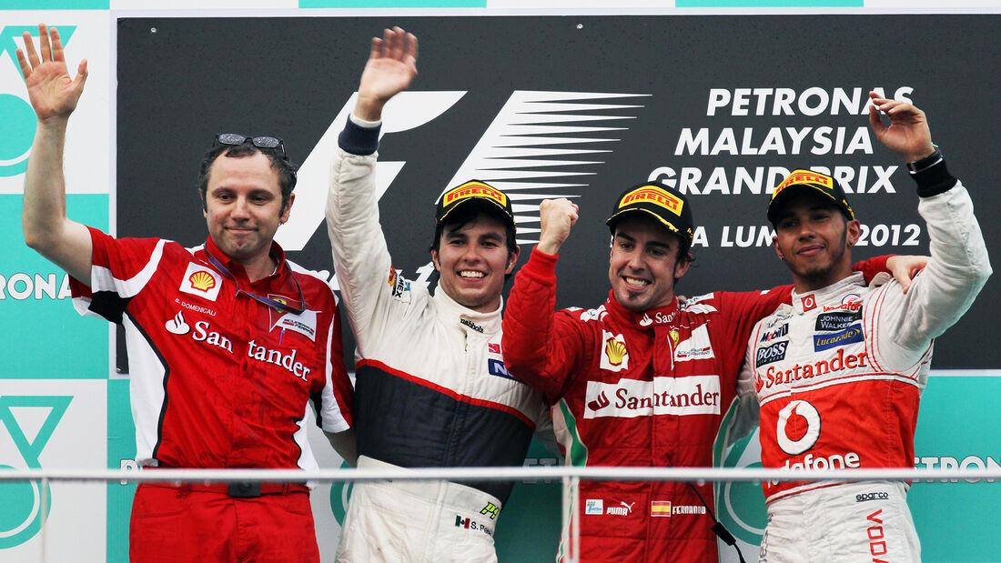 Fernando Alonso - GP Malaysia 2012