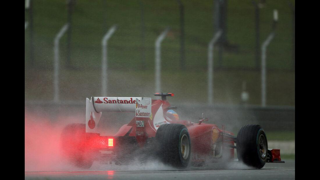 Fernando Alonso GP Malaysia 2012