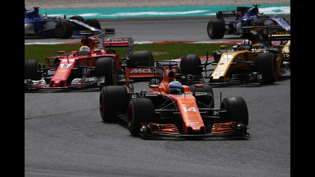 Fernando Alonso - GP Malaysia 2017