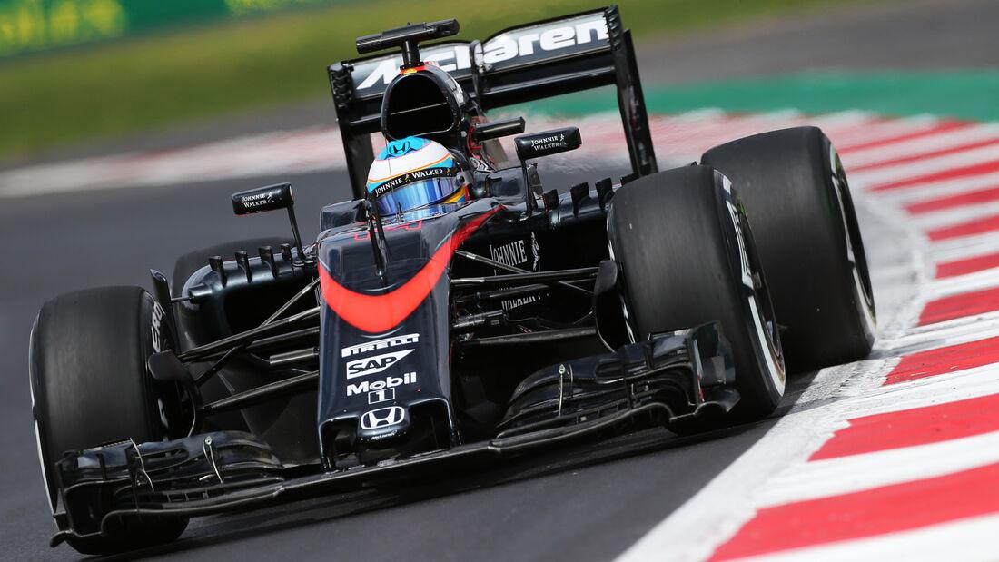 Fernando Alonso - GP Mexiko 2015