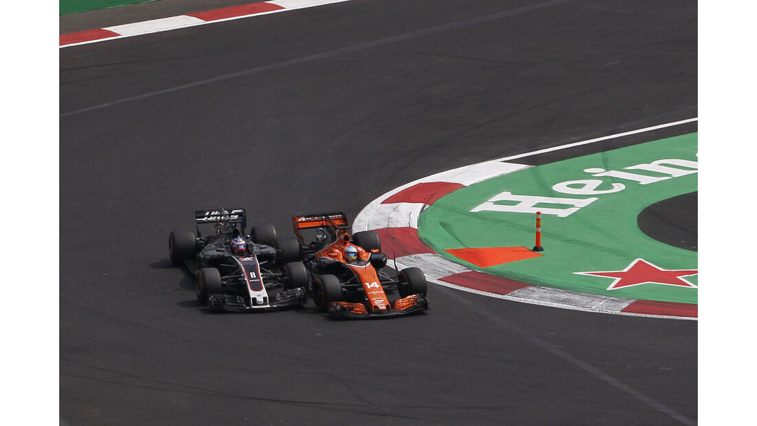 Fernando Alonso - GP Mexiko 2017