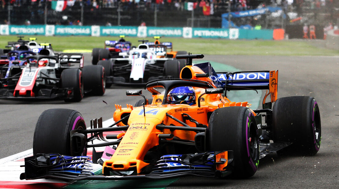 Fernando Alonso - GP Mexiko 2018
