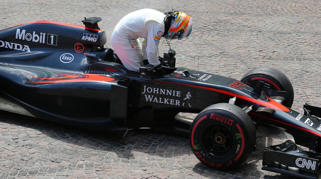 Fernando Alonso - GP Monaco 2015