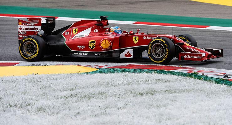 Fernando Alonso - GP Österreich 2014