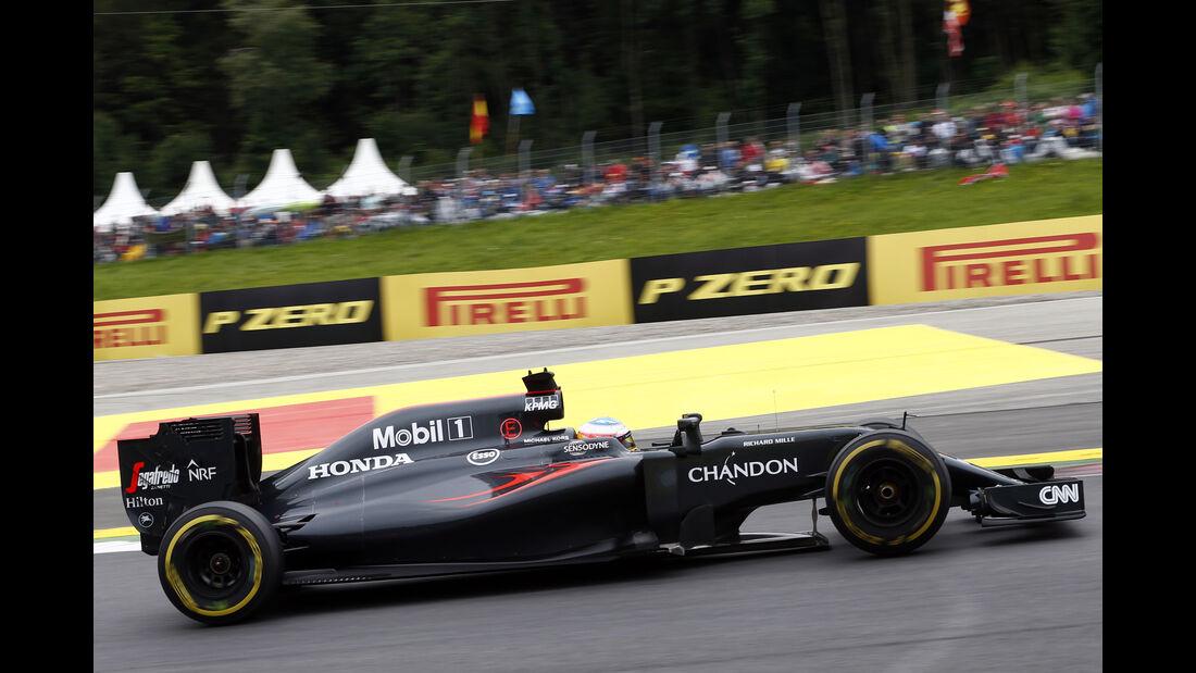 Fernando Alonso - GP Österreich 2016