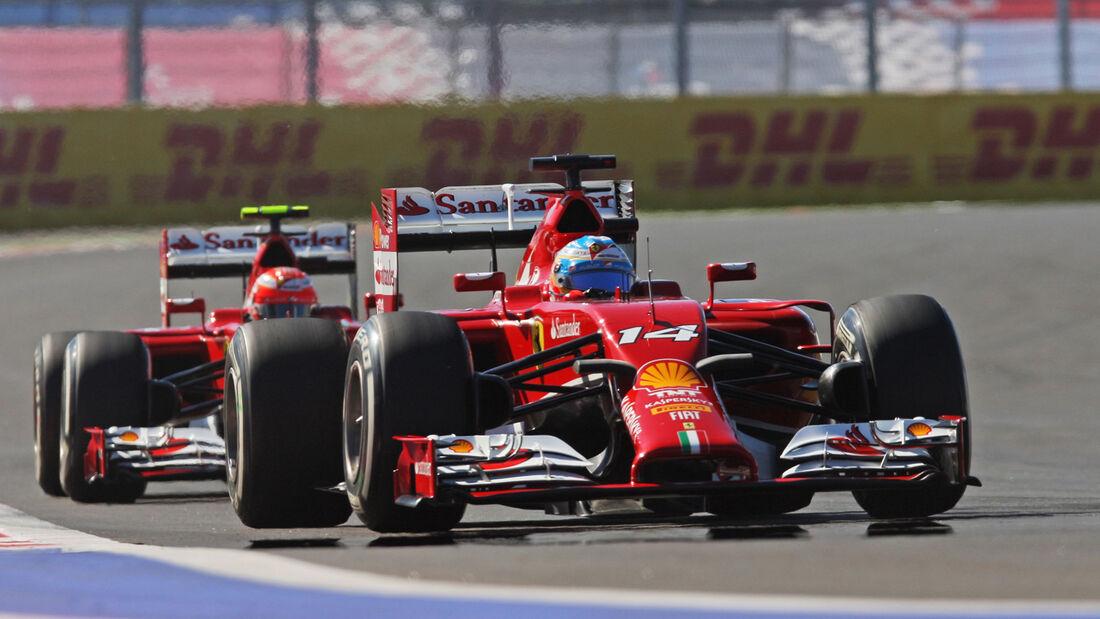 Fernando Alonso - GP Russland 2014