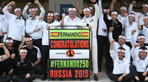 Fernando Alonso - GP Russland 2015