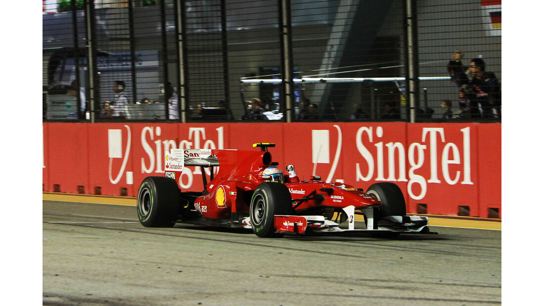 Fernando Alonso - GP Singapur 2010