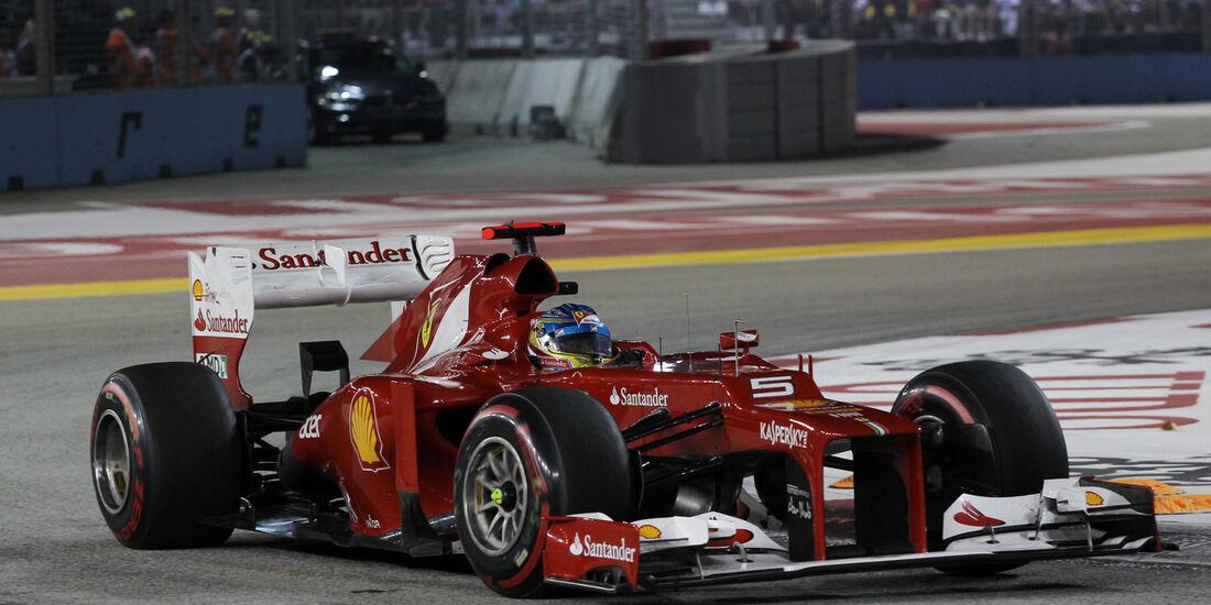 Fernando Alonso - GP Singapur 2012