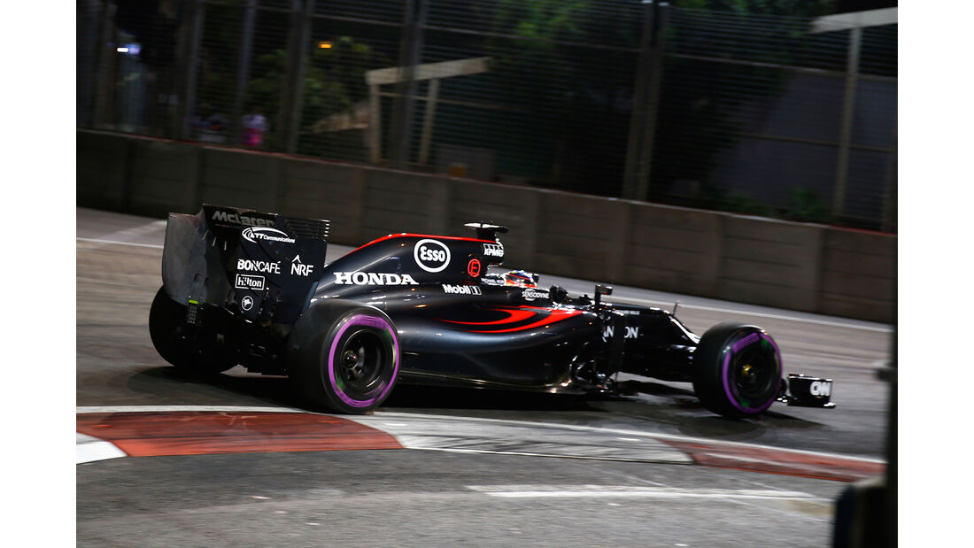Fernando Alonso - GP Singapur 2016
